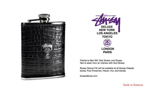 stussy deluxe 2008 fallwinter collection preview