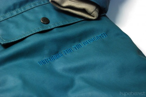 uniforms for the dedicated 2008 fallwinter collection