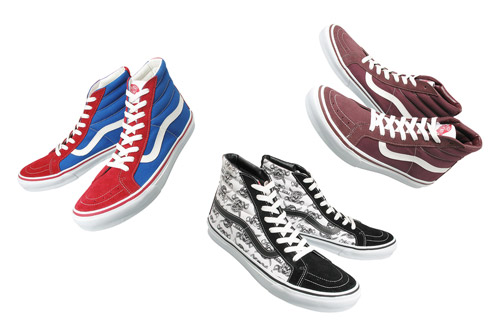 vans 30th anniversary sk8 hi collection