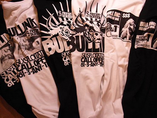 wtaps presents bull ink tee collection