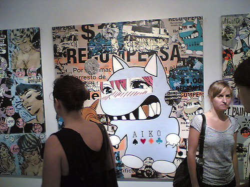 aiko shut up look show brooklynite gallery