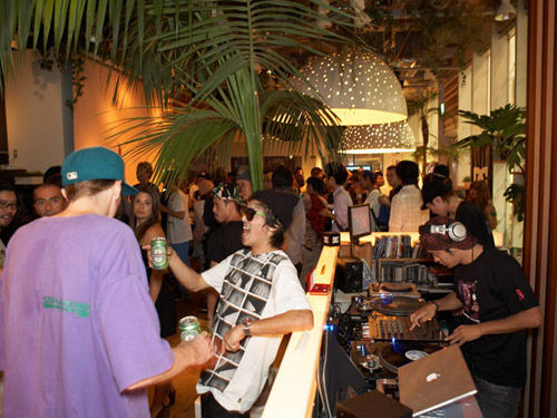 atmos x dc shoes life collection release party