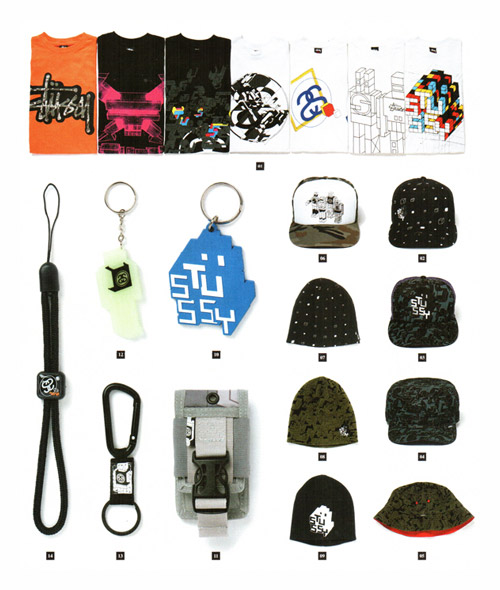 delta x stussy 2008 fall system and structure collection