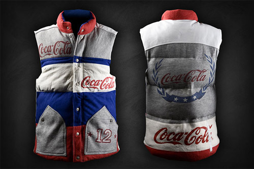 dr romanelli x fruition recycled pop bubble vest collection
