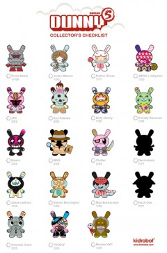 kid robot dunny series 5 preview