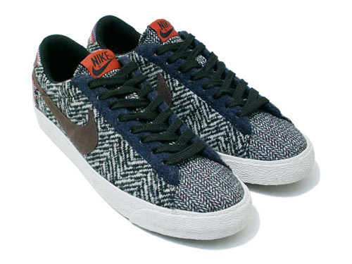 Nike Blazer Faible Style Tweed Classique