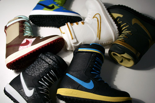 nike snowboarding 2008 fallwinter collection toy boots