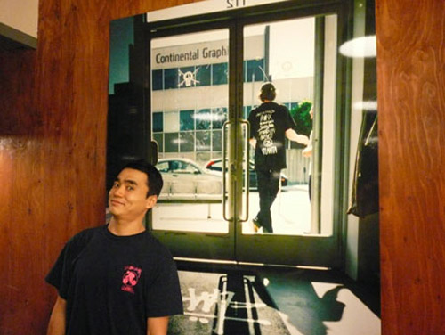 rip zinger book release party at the harajuku stussy store
