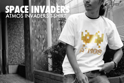 space invaders x atmos 30th anniversary t shirt