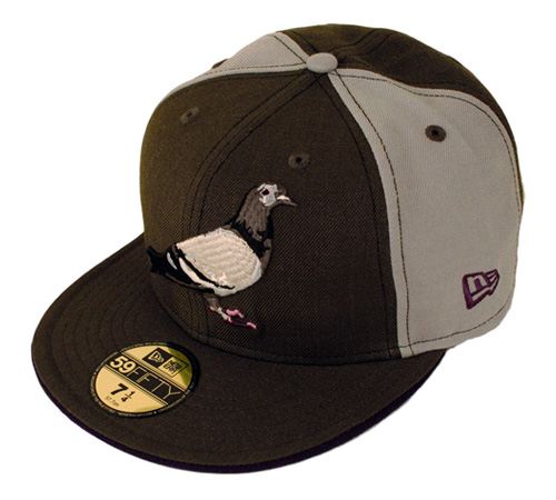 The iconic Pigeon logo is seen on the front panel of the New Era with bird  shit marking the back panel. Six different colors are available now at ... cac8809d73e2