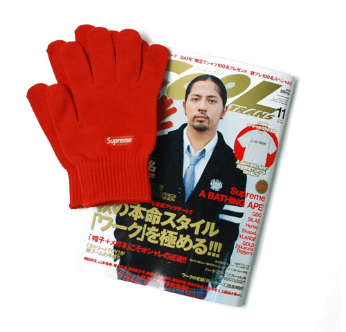 cool trans no 157 november 2008 with supreme knitted gloves