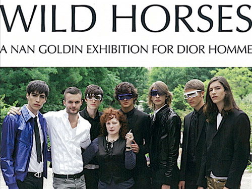 wild horses a nan goldin exhibition for dior homme