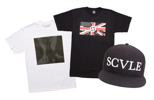 black scale 2008 winter fitted caps and collabo tees