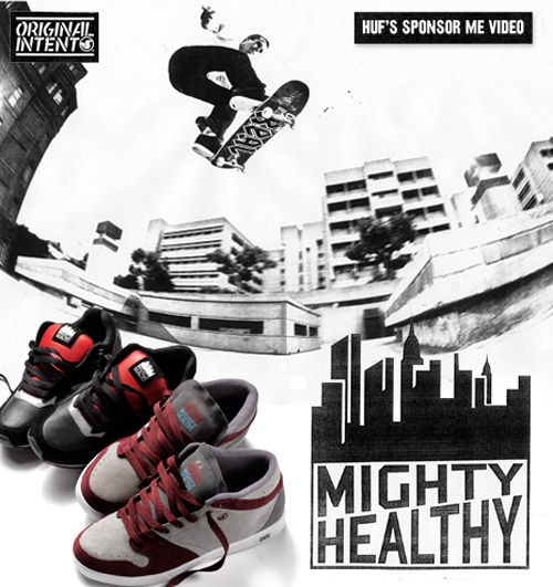 dvs interview huf x mighty healthy collaboration