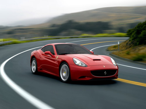 ferrari california 00 2009 Ferrari California Model Update