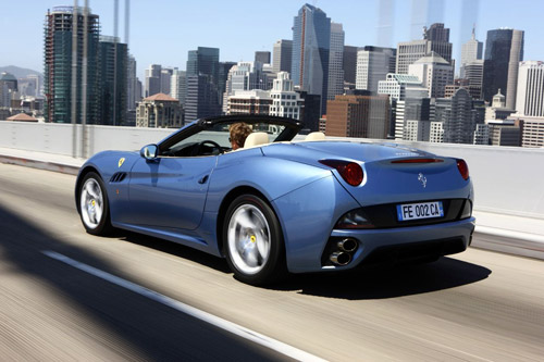 ferrari california 10 2009 Ferrari California Model Update