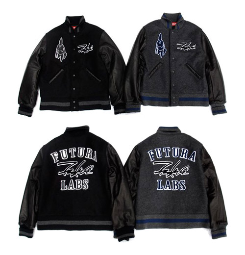 futura laboratories varsity jacket