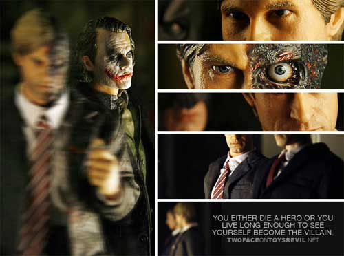 harvey dent two face figure by hot toys preview
