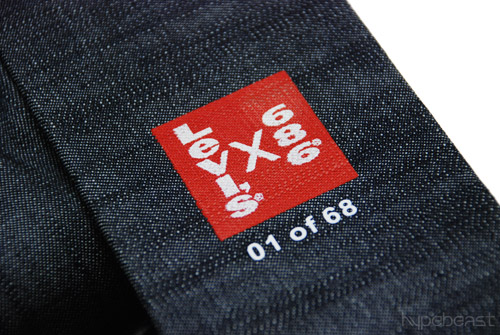 levis x 686 the times limited edition box