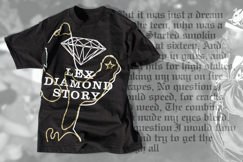 diamond x uxa the lex diamond story tee