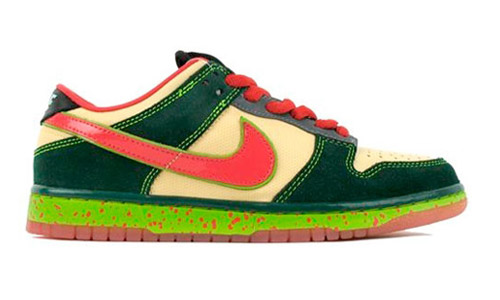 Originally thought to be Ninja Turtles inspired, a nearing release date for  the following Nike SB Dunk Low unveiled a mosquito ...