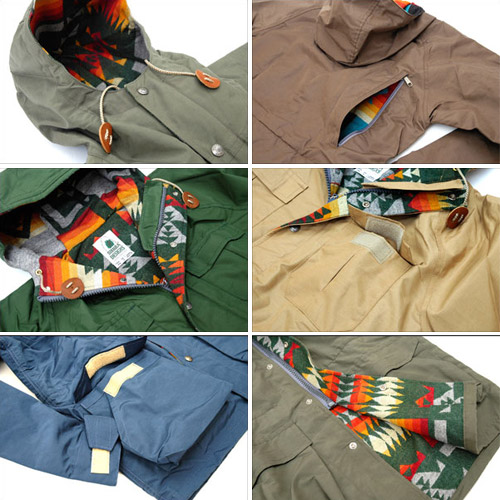 pendleton x sierra designs mountain parka