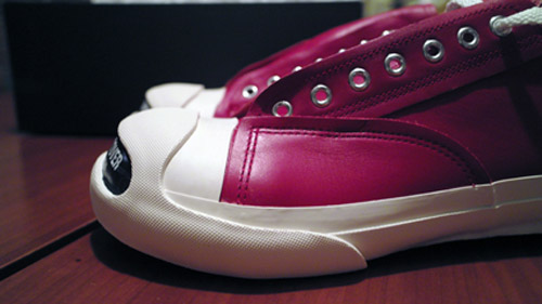 silly thing x undercover jack purcell gold red colorways