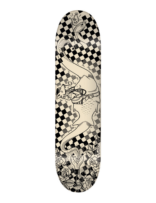 superfishal 2008 fallwinter skatedeck collection