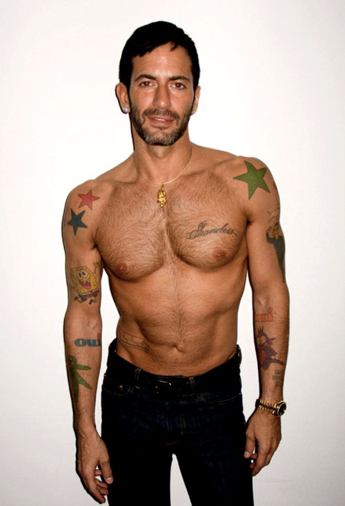 Terry richardson photo shoot with scott campbell marc for Ryan fitzgerald tattoo