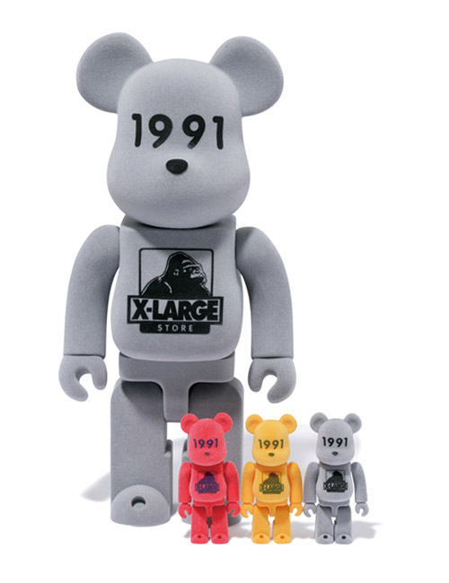 xlarge x medicom toy 400 100 1991 bearbricks
