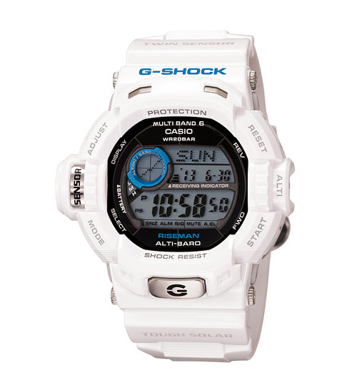 casio g shock men in ice white pack