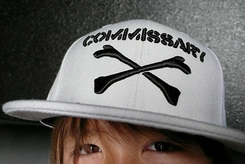 commissary x mitchell ness fitted caps