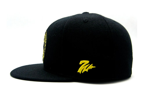 dta x black scale x 7 union fitted cap