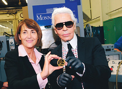 http://hypebeast.com/2008/11/gabriele-chanel-125th-anniversary-coin-by-karl-lagerfeld