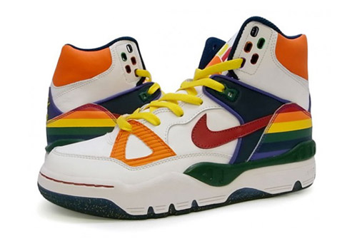 Old School Nike Air Basketball Shoes - beauty mark
