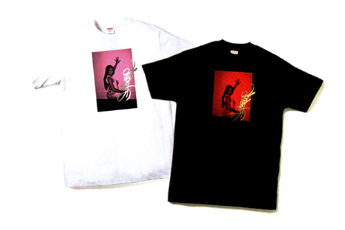 terry richardson x supreme limited edition t shirts