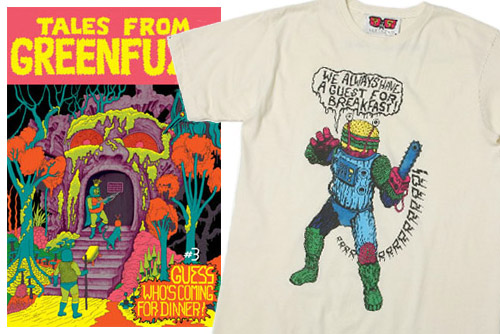 alakazam boris tee tales from the green fuzz issue 3