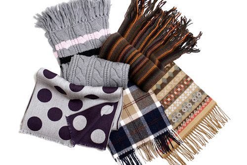 united arrows beauty youth holiday scarves