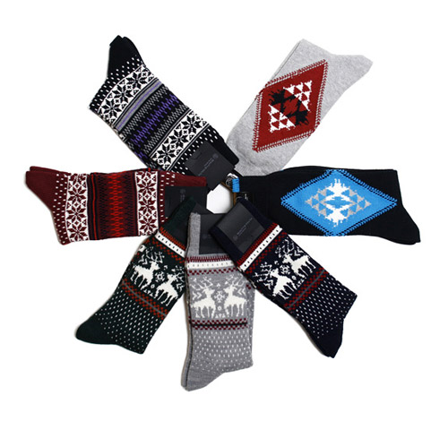 united arrows beauty youth holiday socks