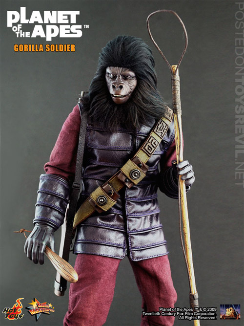 classic planet of the apes cosbaby series by hot toys