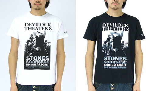 devilock x theatre8 shine a light t shirt