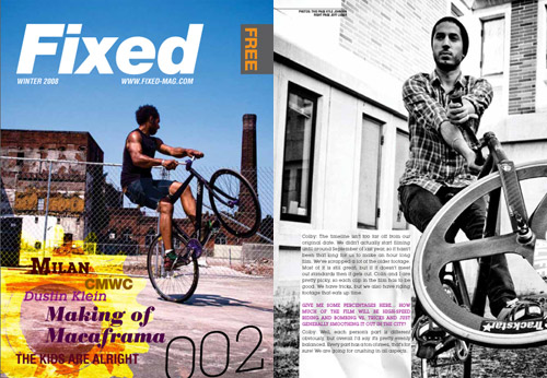 fixed magazine 002 winter 2008 issue