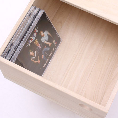 gallery1950 wooden slide box