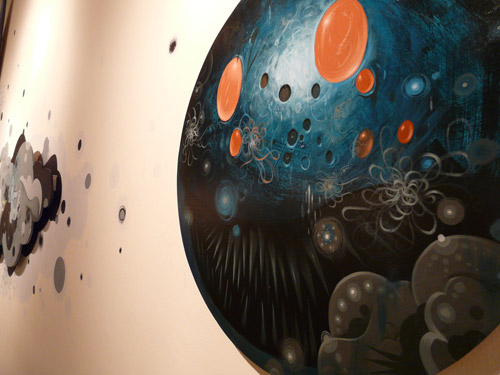jeff soto turning in circles exhibition