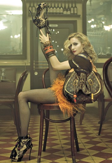 madonna for louis vuitton ad campaign