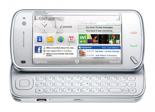nokia n97 mobile computer phone