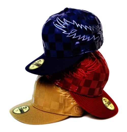 number nine x new era checkered cap collection