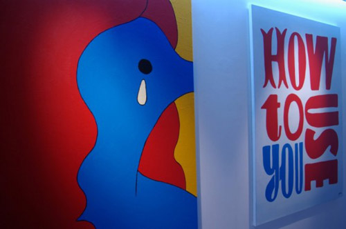 parra boo to the hoo exhibition at the lazy dog gallery