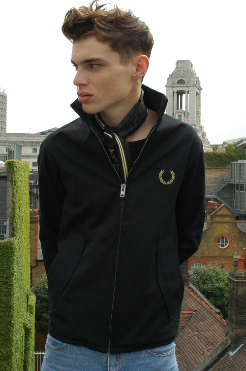 peter jensen x fred perry 2009 springsummer collection
