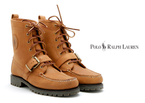 "official photos 32fd8 3d376 Unavailable and out of production for sometime, the Polo Ralph Lauren  ""Ranger"" boots make a triumphant return at the very end of 2008."